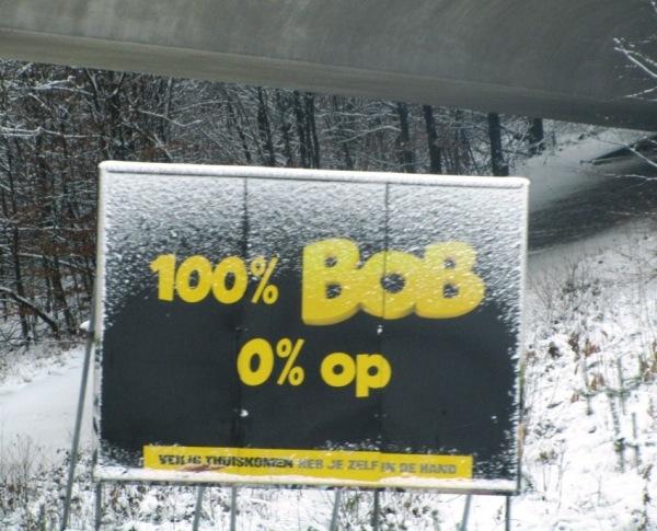 100% BOB 0% op