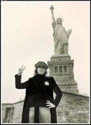 lennon statue of liberty
