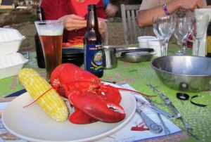 Photo: Lobster and IPA in Maine, (c) A. Dapie 2015