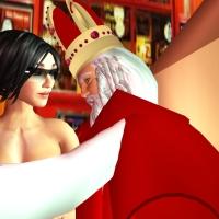 Het nooit vertelde verhaal van Sinterklaas en Roodkapje (alleen voor volwassenen)