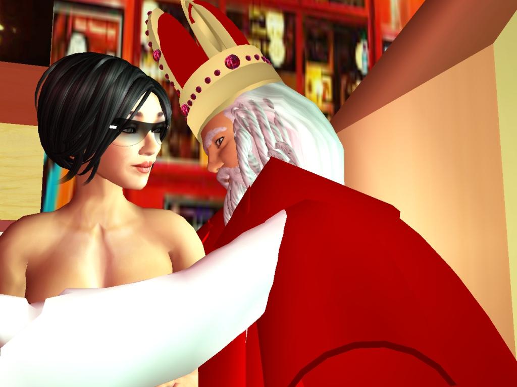 Het nooit vertelde verhaal van Sinterklaas en Roodkapje (alleen voorvolwassenen)
