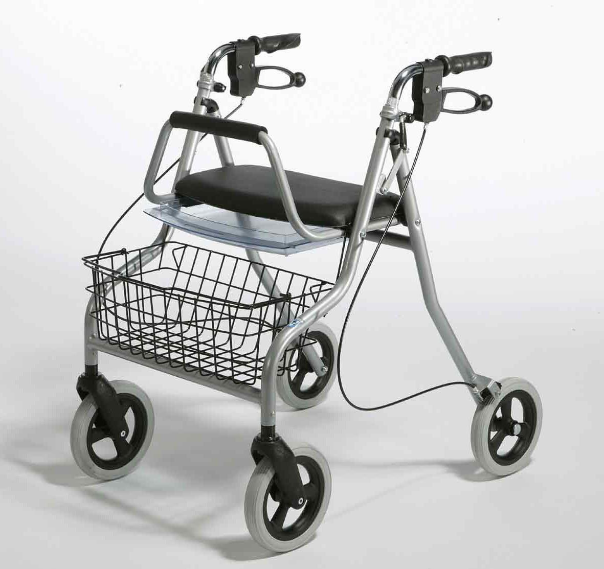 Te koop: nieuwe rollator, nooitgebruikt
