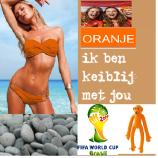 keiblij met oranje