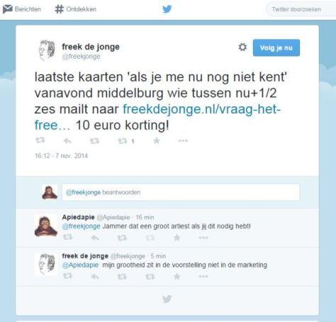 Freek de Jongea