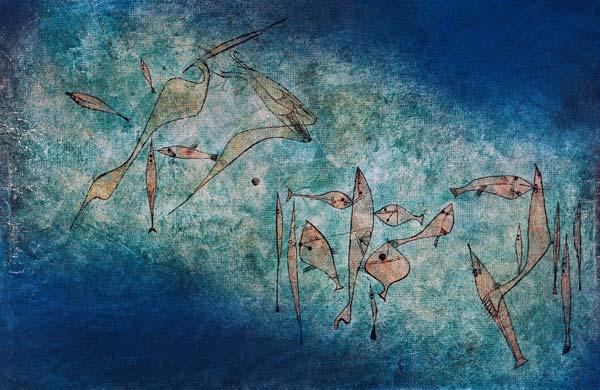 Fischbild, Paul Klee, 1925
