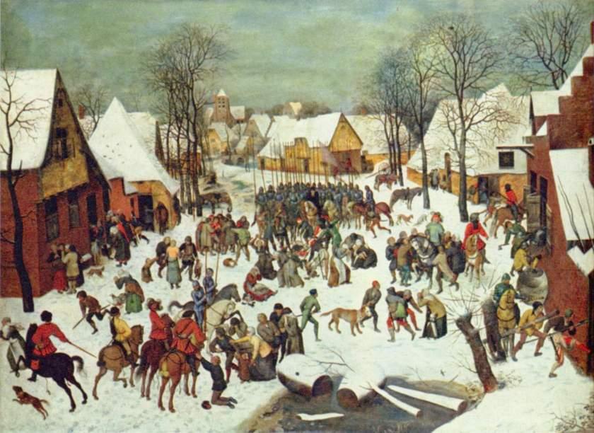 Pieter Bruegel de Oude - De Moord op de Onnozele Kinderen