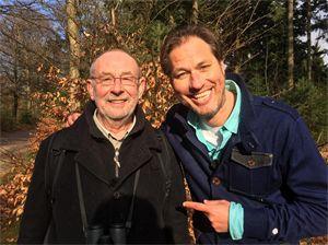 Met Hans Dorrestijn aan de wandel
