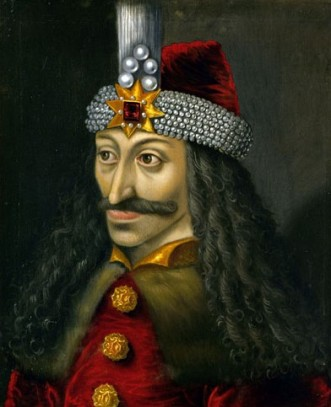 Vlad Țepeș (schilderij in Ambras kasteel Innsbruck Oostenrijk) bron: internet