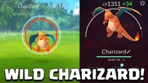 Charizard - vang hem met Pokemon Go en laat hem aan Bertie zien