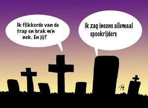 #nlmv Tekening Toon van Driel, tekst: Apiedapie