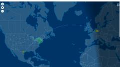Mopperkonts vlucht van Houston naar Amsterdam