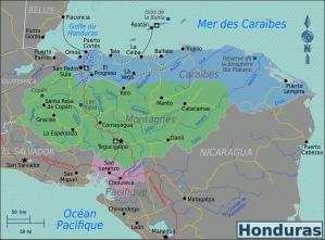Honduras_Regions_map_(fr)