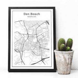 stadskaart-den-bosch-zwart-wit-interieur